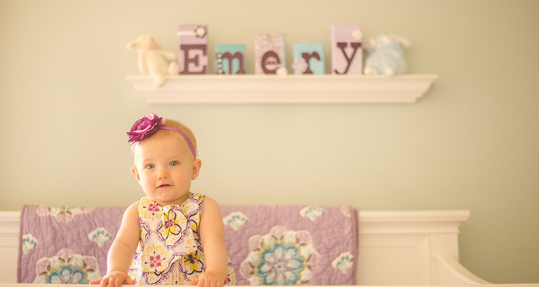 Emery : 9 Months | Tulsa Family Photographer