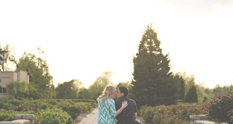 Nate + Alyssa : Engagement | Tulsa Engagement Photographer