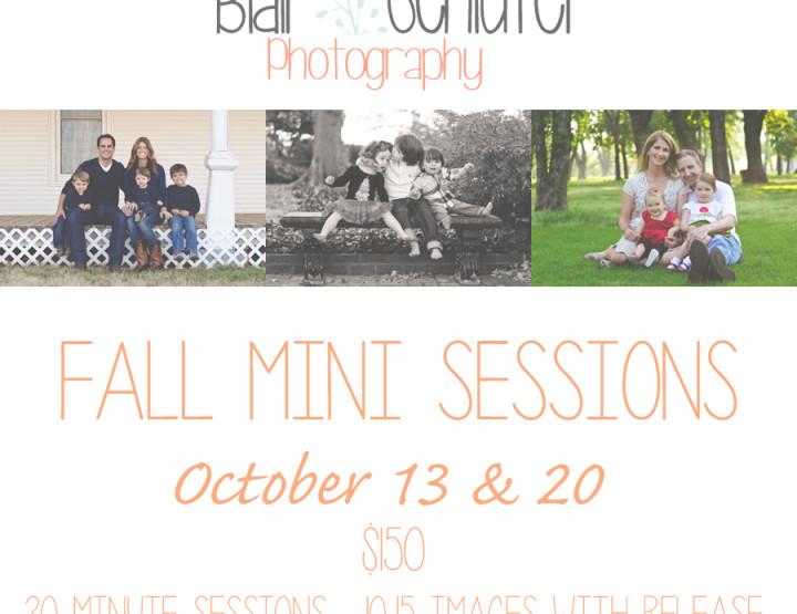 Fall Mini Sessions   Tulsa Family Photographer