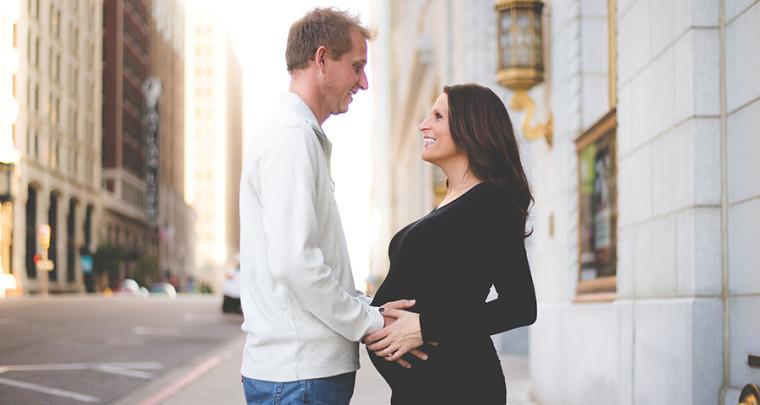 Trisha + Dane : Maternity | Tulsa Maternity Photographer
