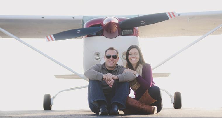 Kristy + Adam : Engagement   Tulsa Engagement Photographer