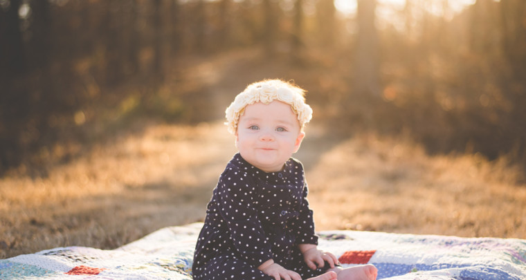 Elsie : 6 Months | Tulsa Family Photographer