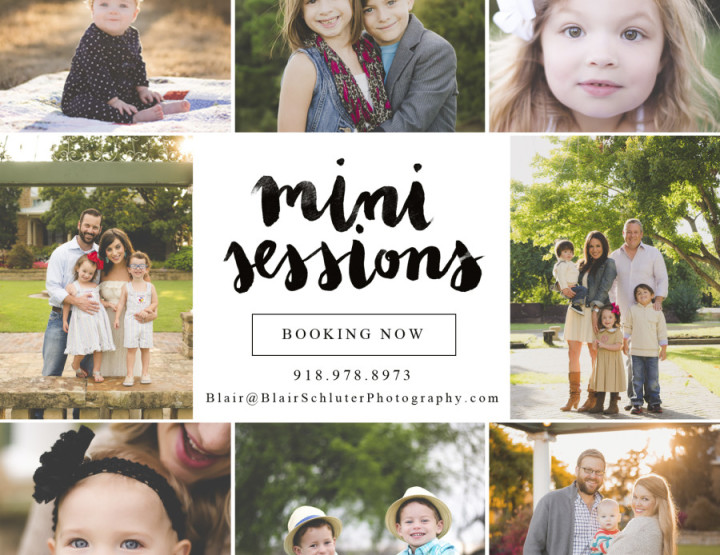 2015 Summer Mini Sessions | Tulsa Family Photographer