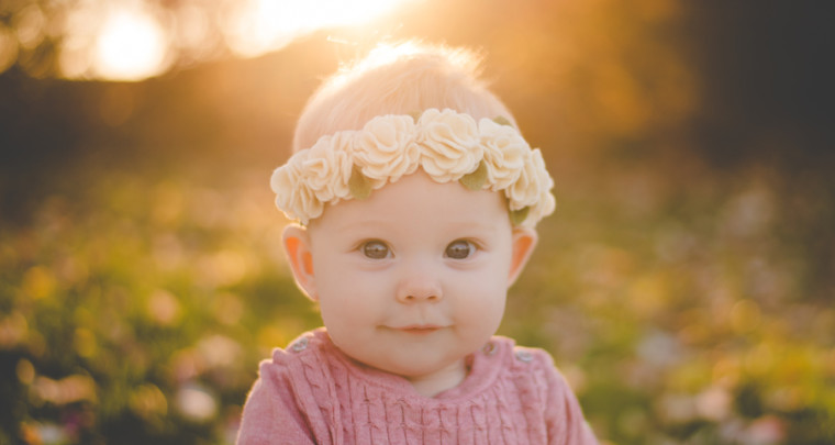 Evie : 7 Months | Tulsa Children's Photographer
