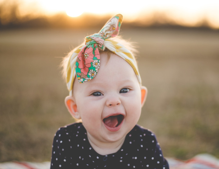 My Evie : 6 Months | Tulsa Photographer