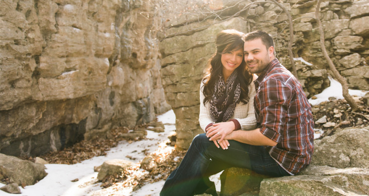 Matt + Tiffany : Engaged   Tulsa Wedding Photographer