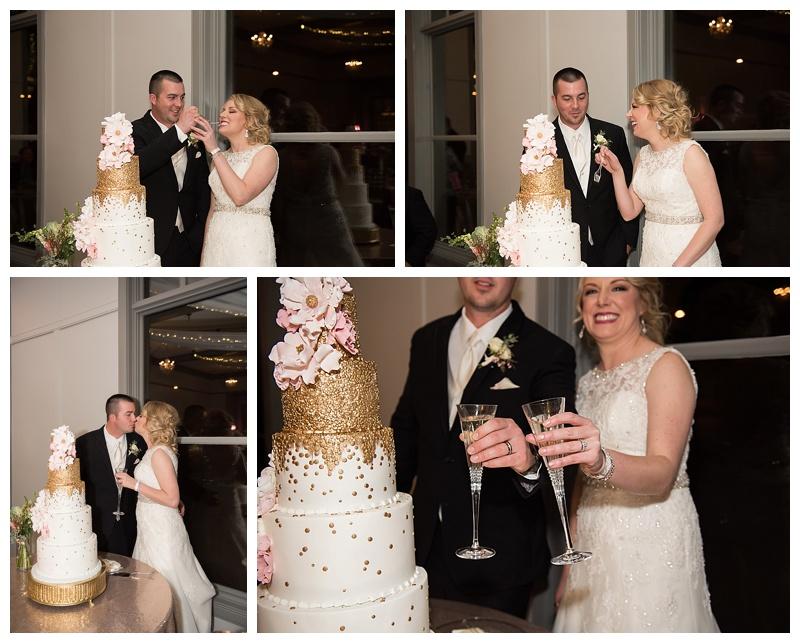 cutting-the-cake-tulsa-wedding