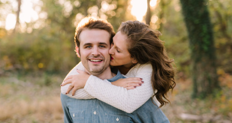 Evan + Abbey | Tulsa Engagement Photographer