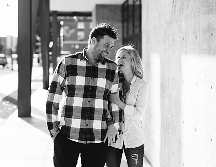 Adam + Amy | Tulsa Engagement Photographer