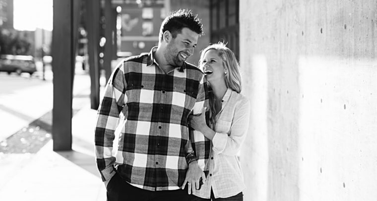 Adam + Amy | Tulsa Engagement Photographer